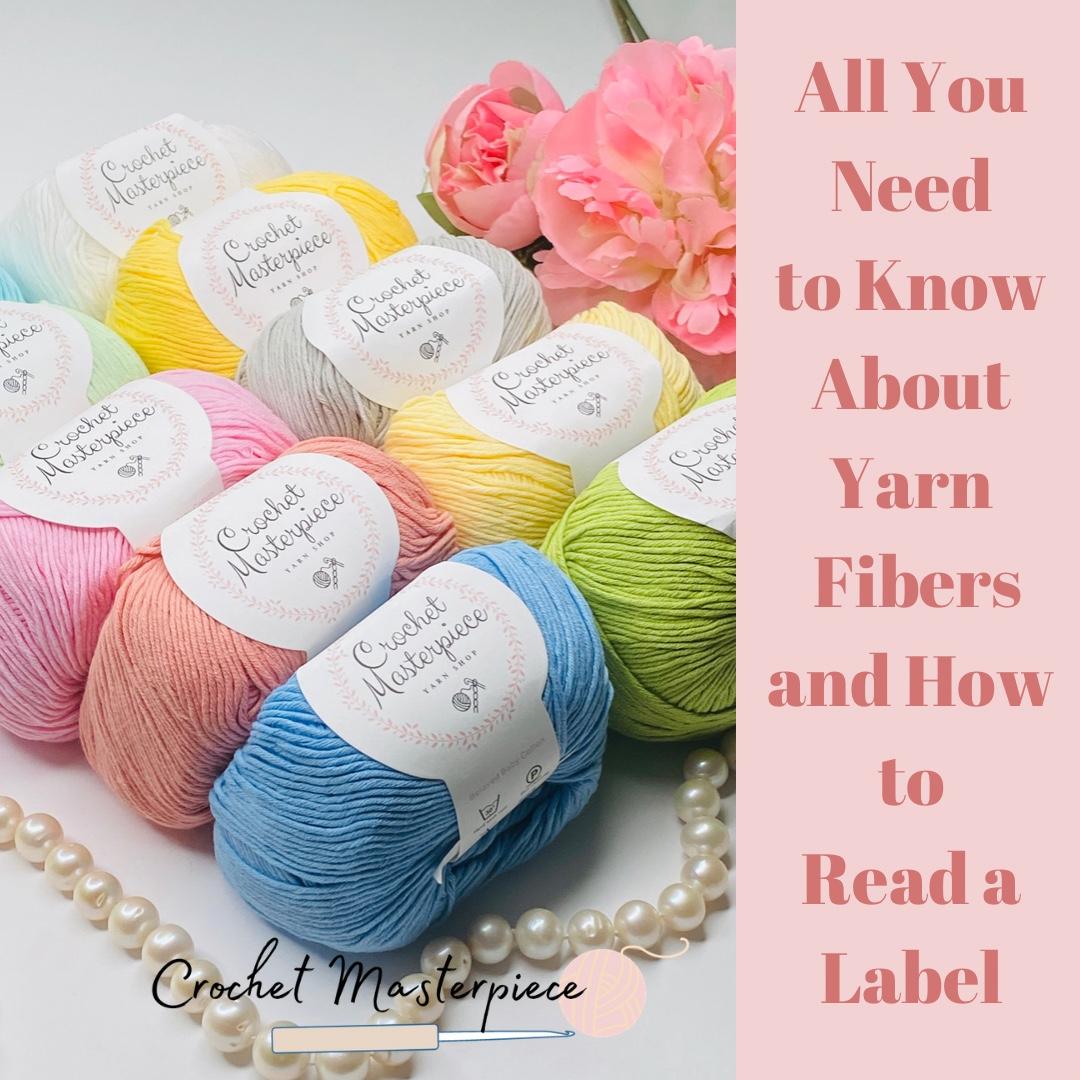 crochet yarn fibers